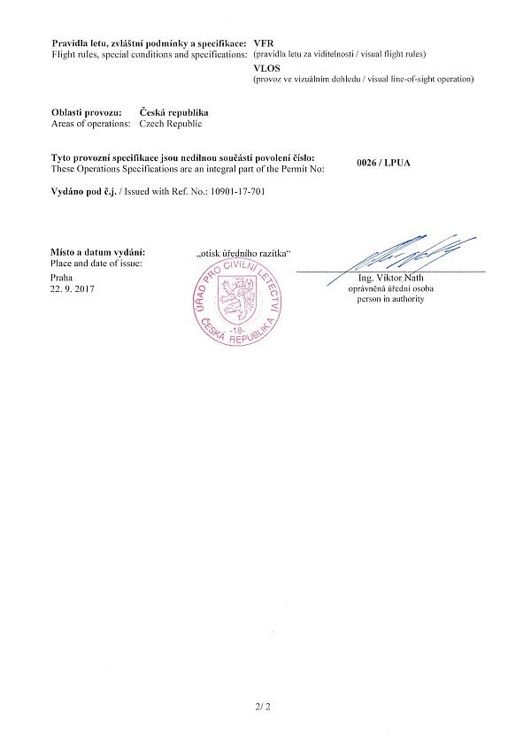 povolení ÚCL